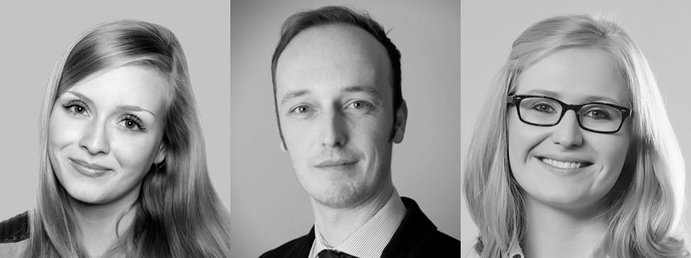 BP Team: Laura Piwnicki, Liam Scannell, Lydia Timm (Marketing)