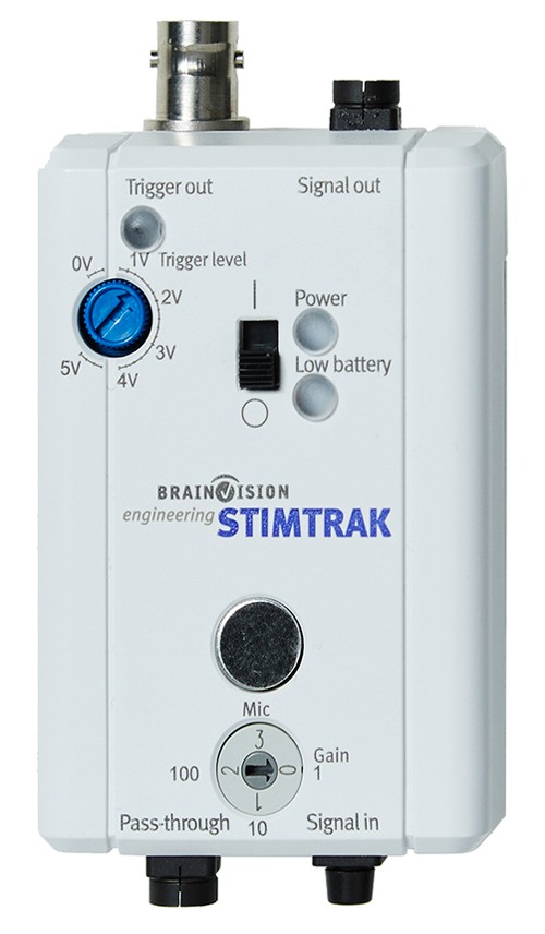 Brain Products' StimTrack