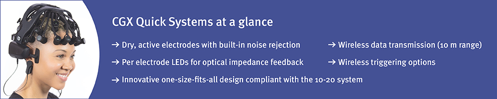 CGX Quick Systems at a glance